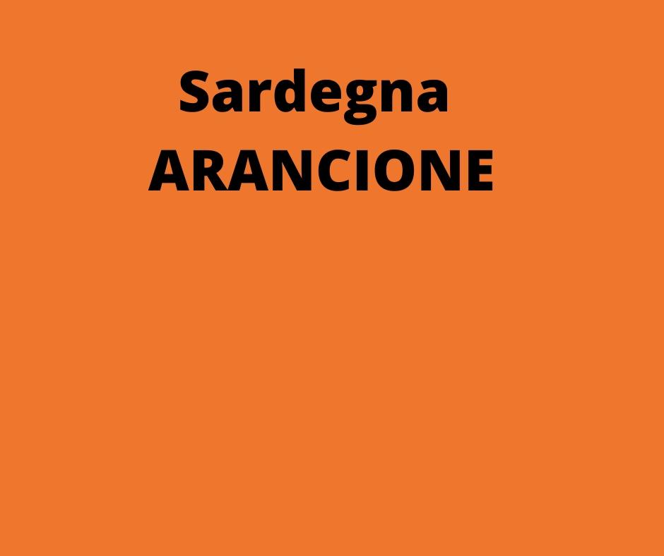 COVID 19 Sardegna da lunedì 22 diventa arancione