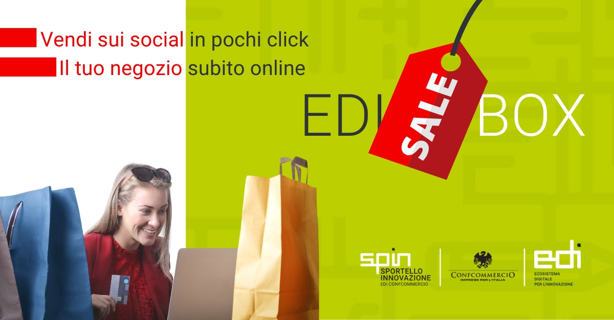 EdiSALEBox: La campagna di EDI per vendere subito e online in pochi click