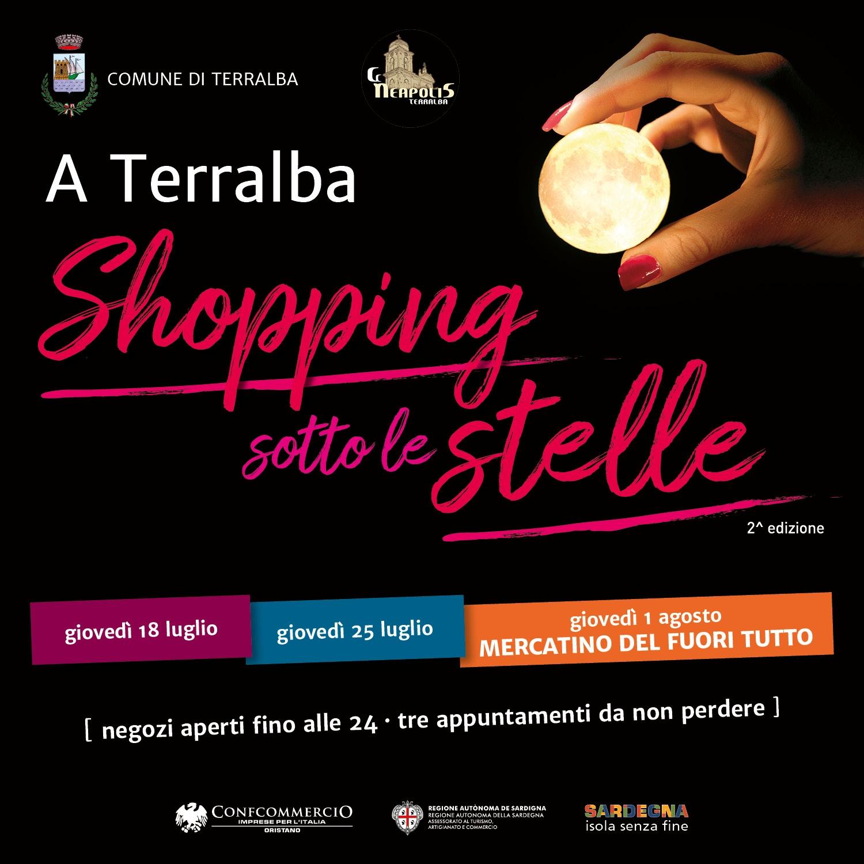 Di giovedì anche Terralba Shopping Sotto Le Stelle. Tre imperdibili appuntamenti