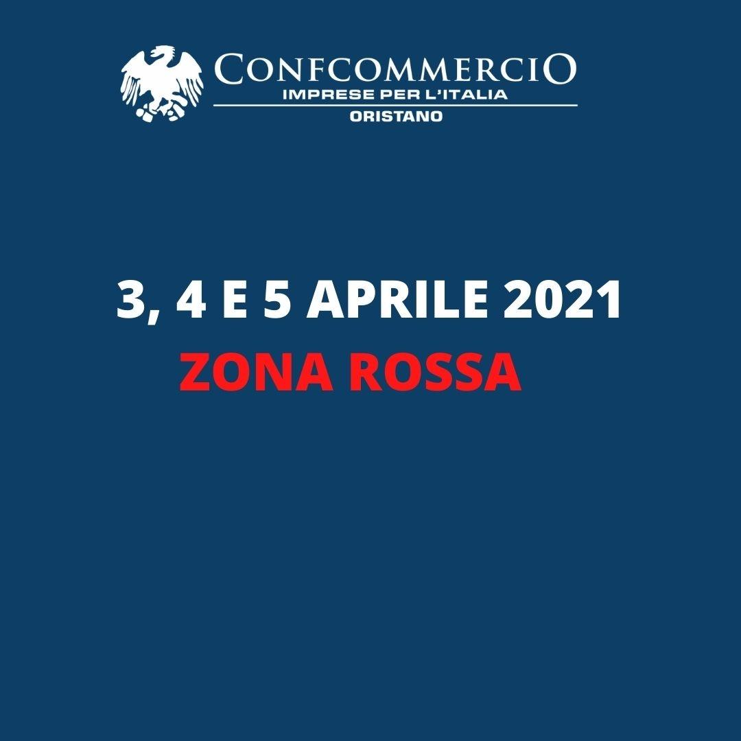 3-4-5 Aprile Zona Rossa