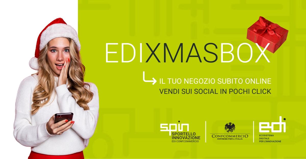 EdixmasBox: La campagna di EDI per vendere subito e online in pochi click