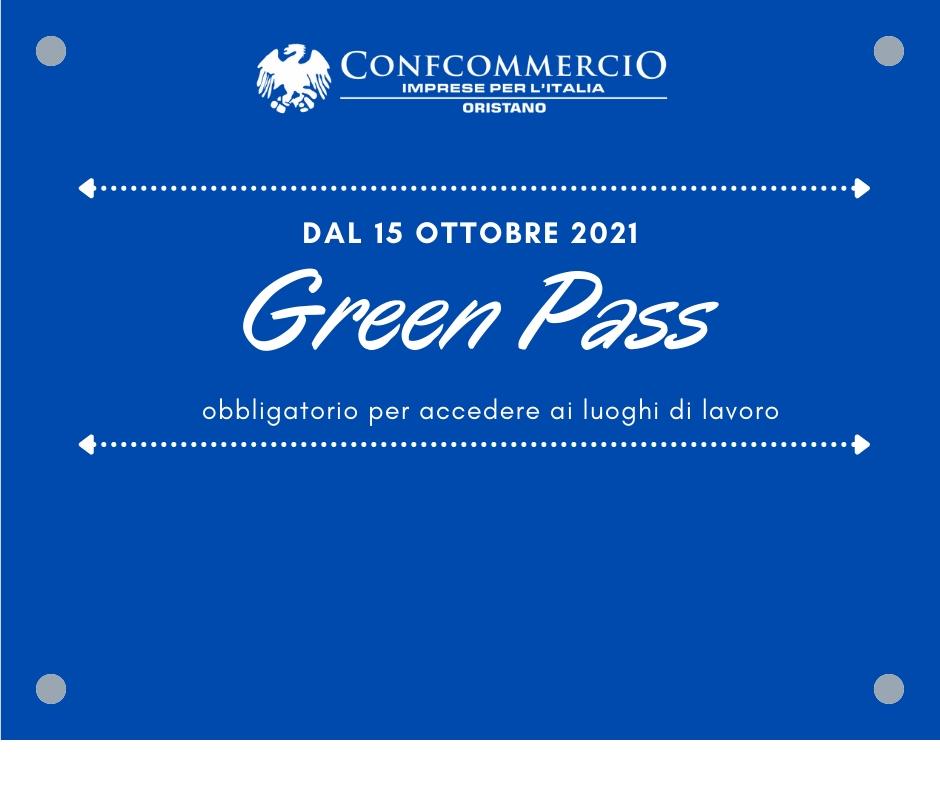 Dal 15 Ottobre il green pass è obbligatorio per accedere ai luoghi di lavoro